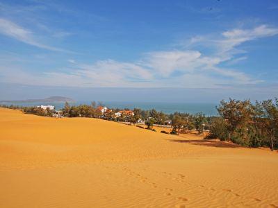 붉은 모래언덕/적색 사구(레드 샌듄)