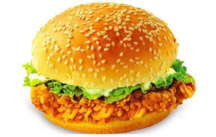 威福克炸雞漢堡