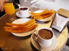 圣吉内斯巧克力店-马德里-candy恩恩