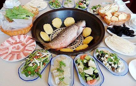 木火鐵鍋燉魚村