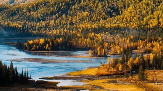 Kanas Lake Scenic Area