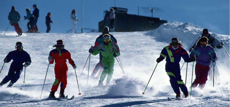 天山天池國際滑雪場2