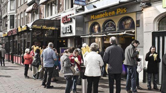 Manneken Pis Amsterdam