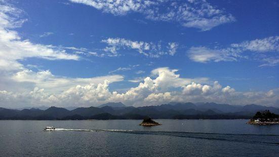 千島湖皮划艇