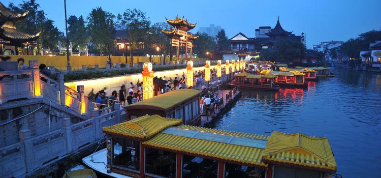 Qinhuai River Boat Tour1