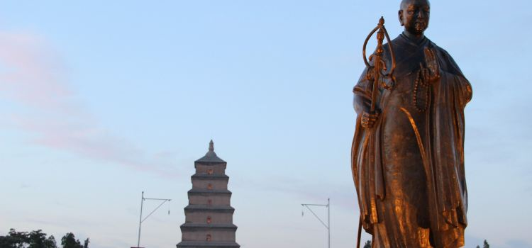 Giant Wild Goose Pagoda South Square3