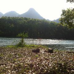 난시강 풍경명승구 여행 사진