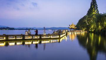 杭州-西湖-长桥公园2