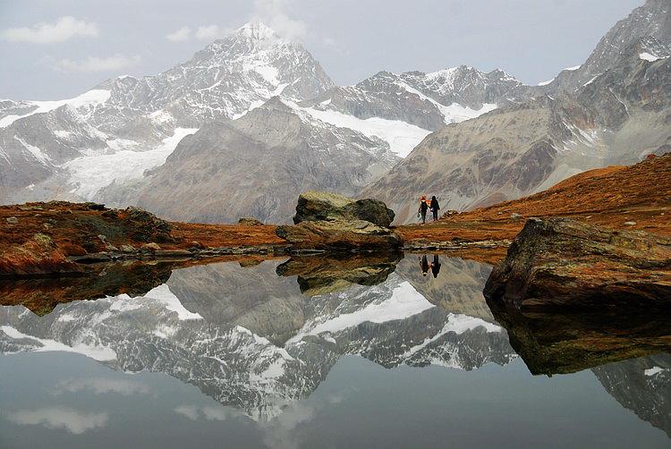 馬特宏峰冰川天堂