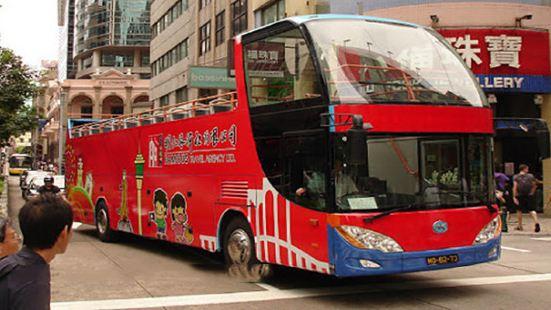 Macao Open Top Bus