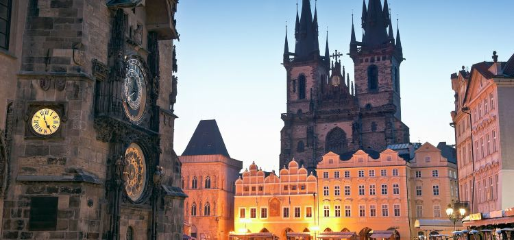 Prague Astronomical Clock2