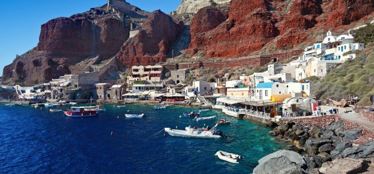 Ammoudi Cove