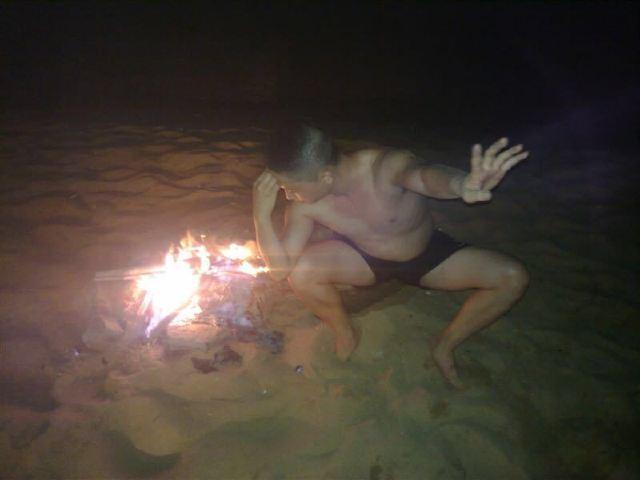 홀리데이 해변
