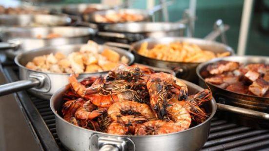 凱悅海鮮bbq自助餐