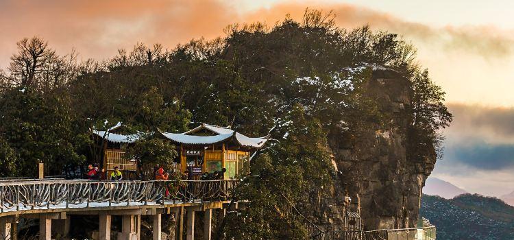 톈먼산(천문산) 유리다리(보리잔다오)2