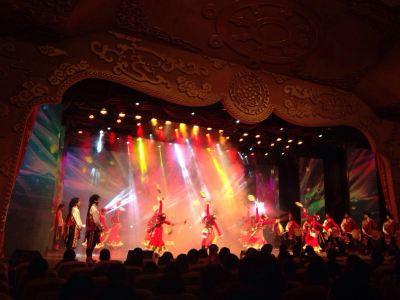 九寨溝《藏王宴舞》演出