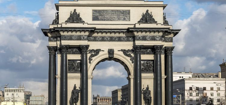 Triumphal Arch of Moscow2
