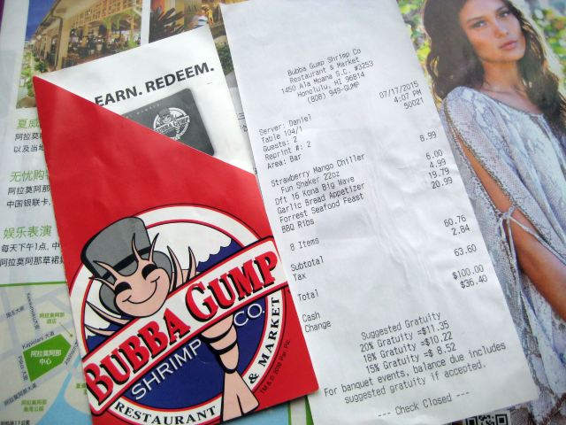 Bubba Gump Shrimp (Oahu)