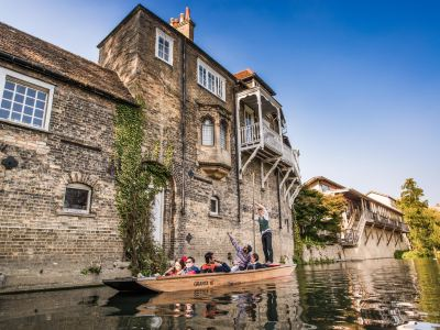 Punting Tours Cambridge