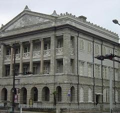 구 홍콩 상하이 은행 나가사키 지점 기념관 여행 사진