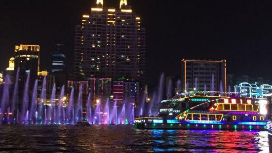 柳江夜遊(柳航遊船碼頭出發)