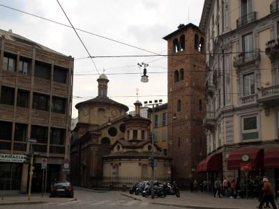 サンタ マリア プレッソ サン サティロ教会