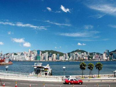 침사추이 해변 산책로(Tsim Sha Tsui Promenade)