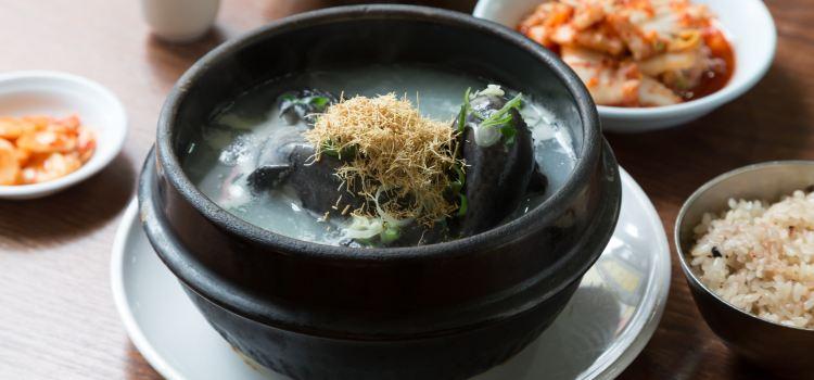 Baekje Ginseng Chicken Soup