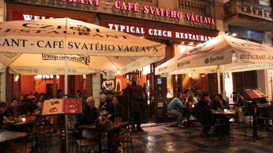 Restaurant - Café Svatého Václava