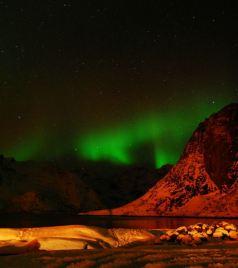 罗弗敦群岛游记图文-覆雪的回忆(中篇)— 极光之美(2)