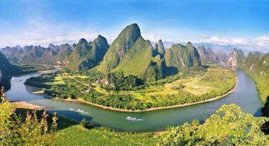 Zijiang scenery belt