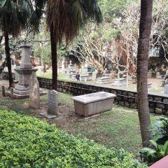 신교도 묘지 여행 사진