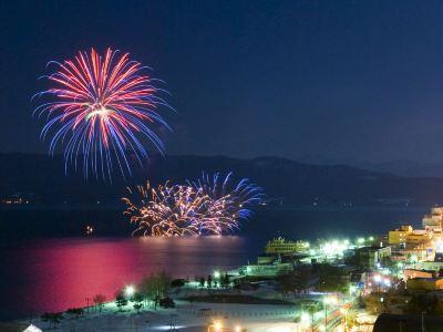 Lake Toya Fireworks