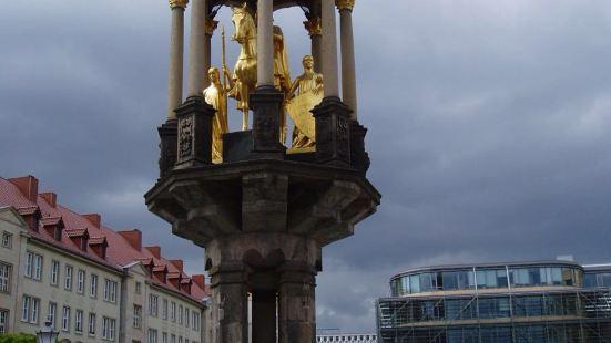 Magdeburger Reiter statue