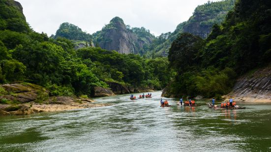 Wuyi Mountain Nine-bend Stream