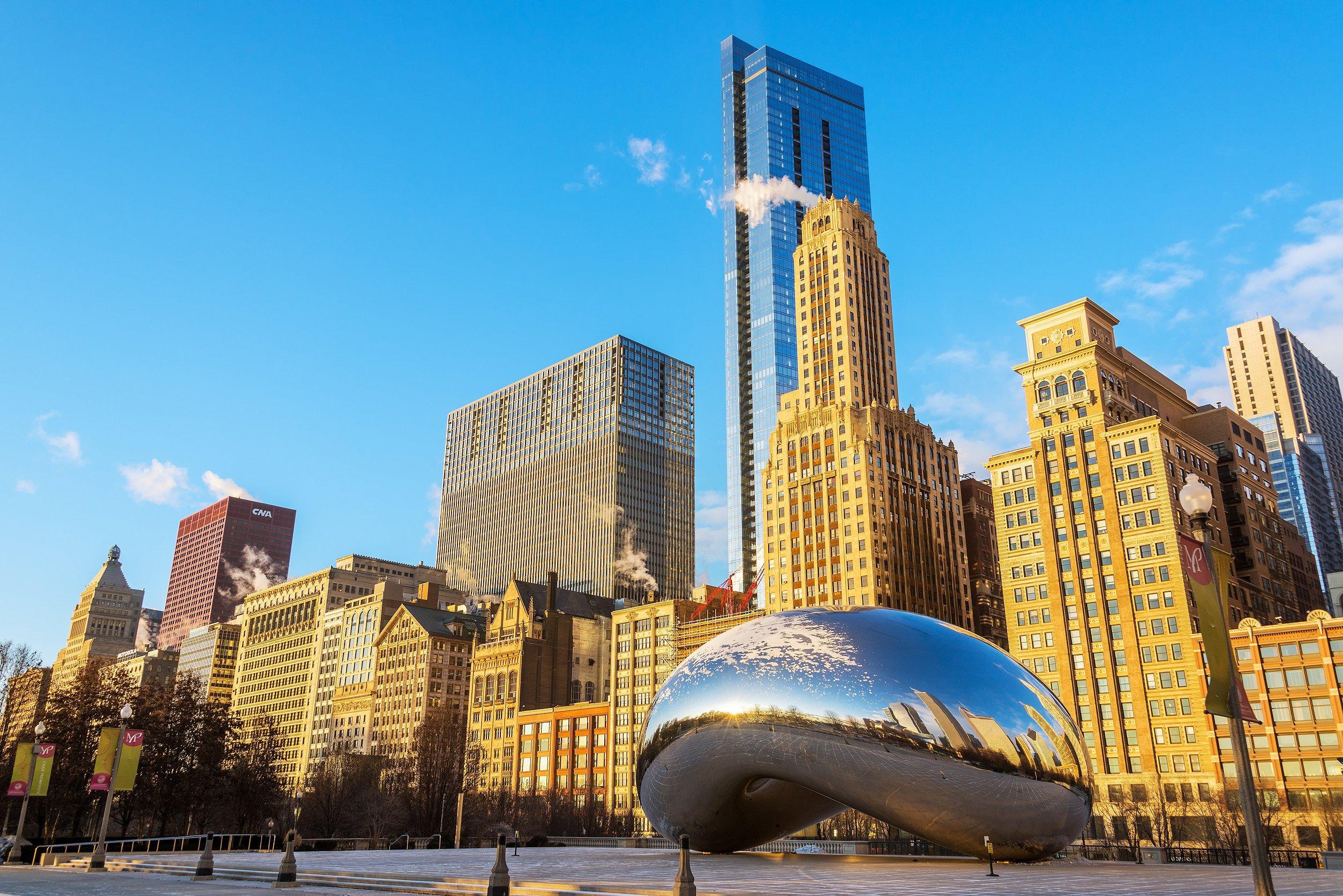Chicago 1-Day City Tour (Millennium Park & Cloud Gate + 360 Chicago + The Art Institute of Chicago + Chicago Cruise)