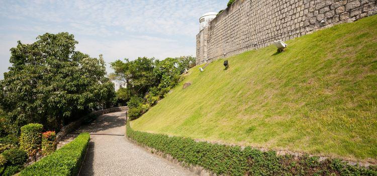 Old Macau City Walls Sections