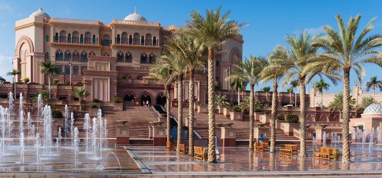 Emirates Palace Abu Dhabi travel guidebook –must visit