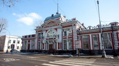 street Karl Marx in Irkutsk