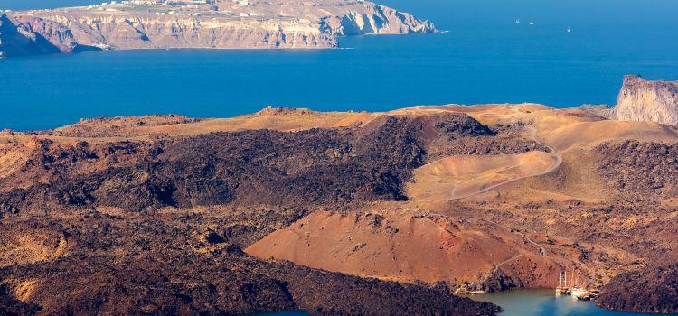 Nea Kameni Volcano