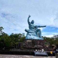 평화 기념상 여행 사진