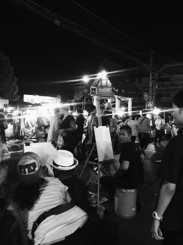 Saturday Night Market Walking Street