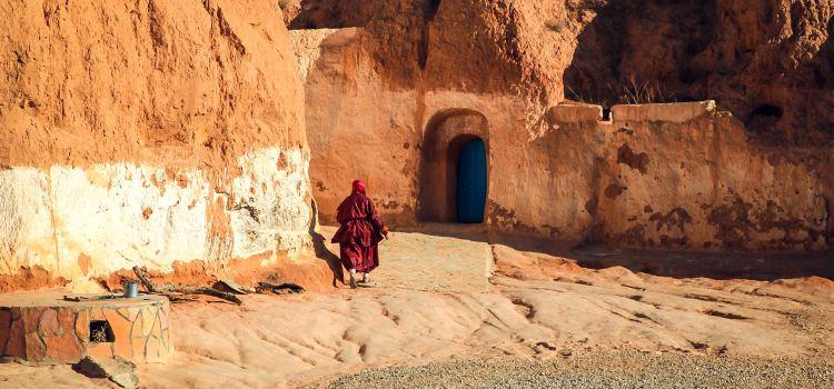 柏柏爾人洞穴民居1