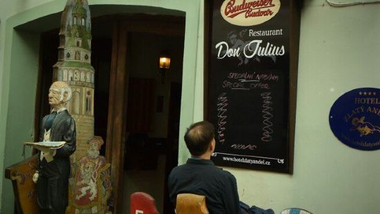 Don Julius Restaurant at Hotel Zlaty Andel