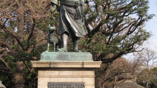 사이고 타카모리 동상
