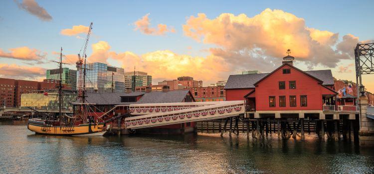 波士頓茶黨船艦及博物館1
