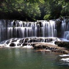 구룡 폭포군 국가 삼림공원 여행 사진