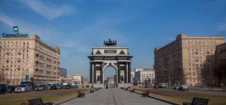 Triumphal Arch of Moscow1