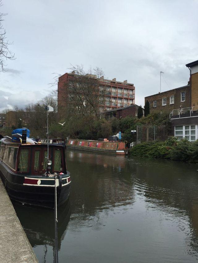 倫敦北部的運河
