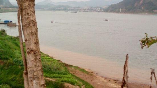 西江雲浮段楊柳降水